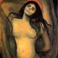 Madonna (E. Munch, 1894)