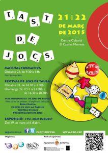 TAST DE JOCS 2015