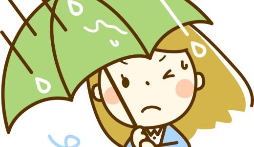 ジメジメする・てるてる坊主・ベタベタするを英語で?梅雨の時期に使いそうな英語フレーズ1