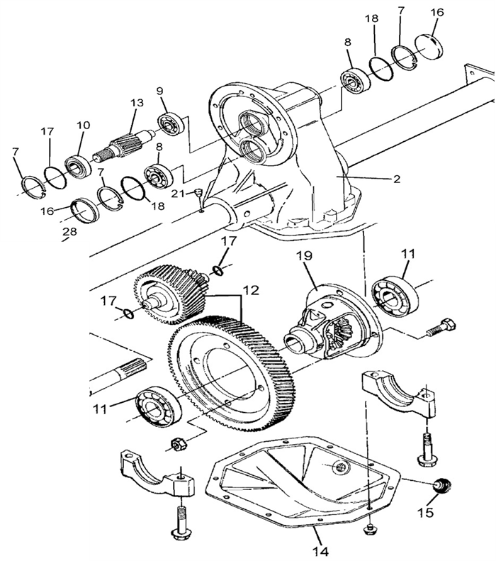 Yamaha Golf Cart Rear End Diagram