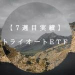 【7週目実績】トライオートETF実績