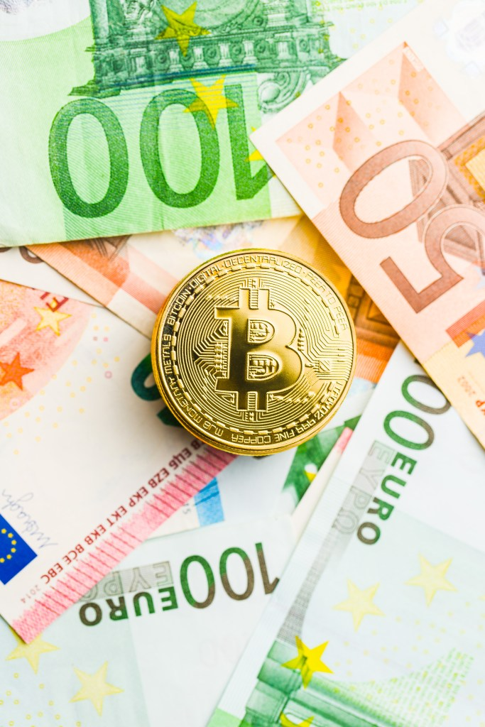 bitcoin and euro-currency