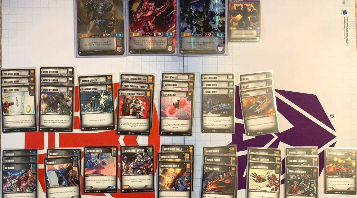 Transformers TCG: Welcome to Blighttown Deck List