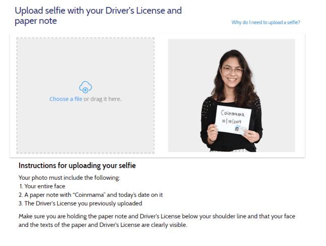 selfie verification