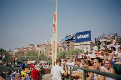 I was working for Sears at the time, and they'd paid for my trip out there, so I had to take this one!
