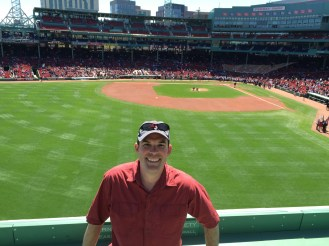 Awesome experience watching a game on the Green Monster, even cooler that it was against the Yankees.