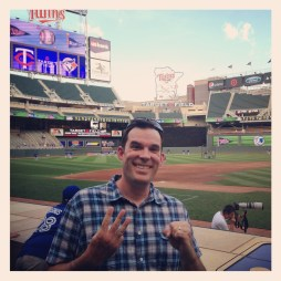 Target Field was #30 for MLB cities, but was a temporary fill for the two new parks in New York I had to hit.