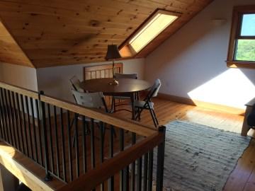 The loft space