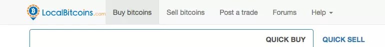 Buy Bitcoins - Localbitcoins