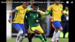 10-man South Africa fight Hosts Brazil to a tie in Olympic opener!