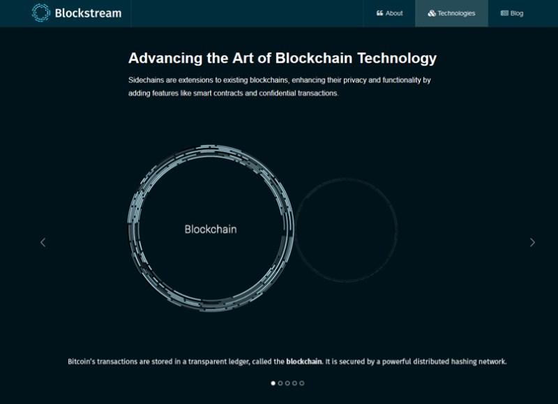 Blocksteam Sidechains