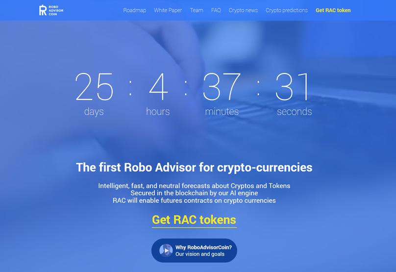 Roboadvisor Website