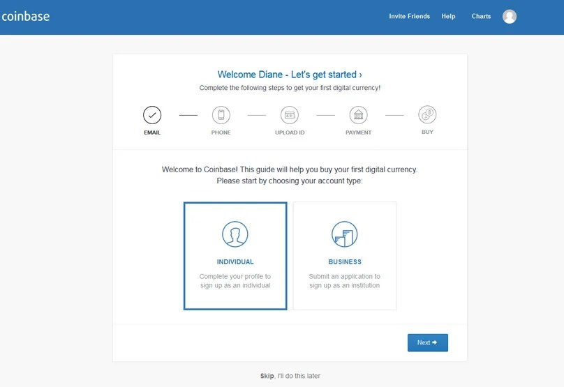 Coinbase Verification