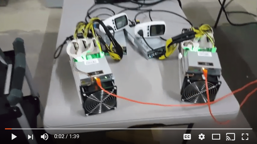 Power comparison Antminer T9 and Antminer S9