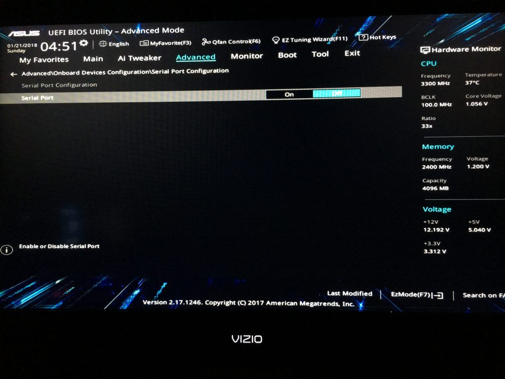 Motherboard BIOS Settings for ASUS Z270-A and Z270-P – Block