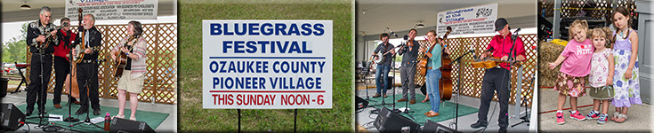 Ozaukee County Pioneer Village Bluegrass Festival - 2015
