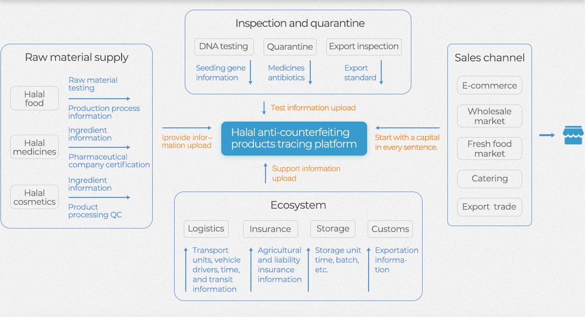 HalalChain's Working Chart