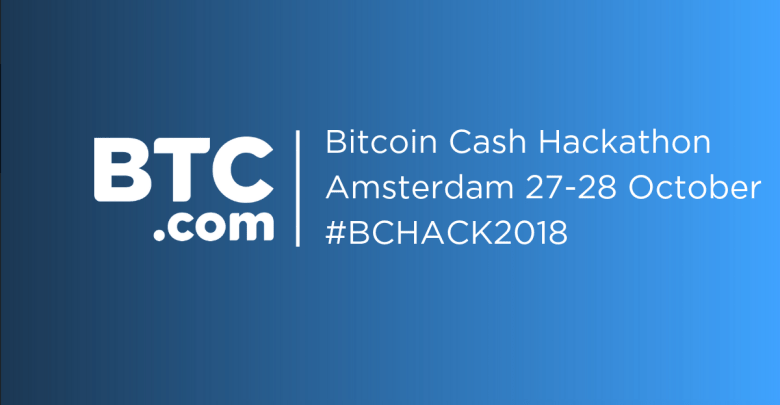 BTC.com to Host Bitcoin Cash Hackathon in Amsterdam on 27-28 October
