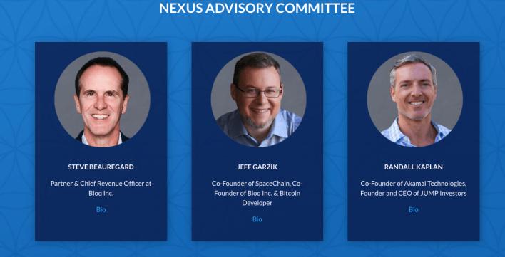 Nexus's advisors