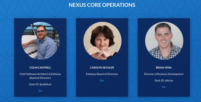 Nexus's team