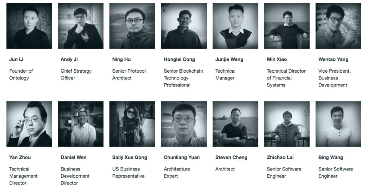 The team behind Ontology