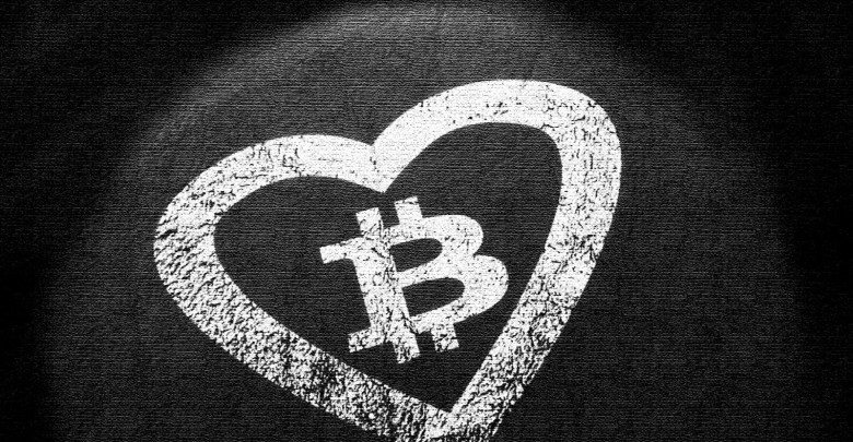 "Photo of ""Bitcoin We're In Love"" Blows Up Post Valentine's Day"