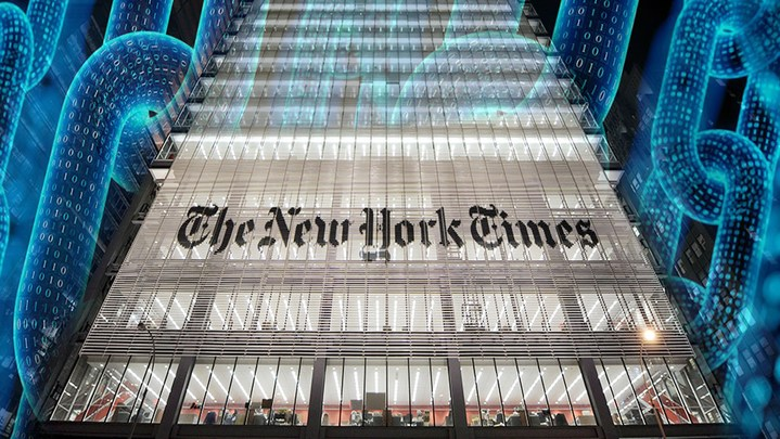 Photo of New York Times Using Blockchain to Tackle Fake News in Photojournalism