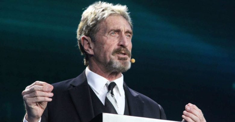 While on the Run, John McAfee Launches Non-Custodial DEX in Beta
