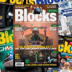 Blocks - the LEGO magazine for fans subscription.