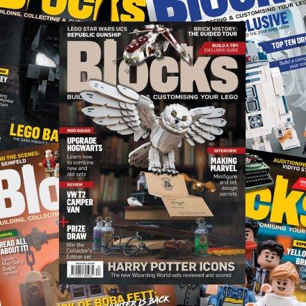 LEGO magazine for fans - Blocks subscription