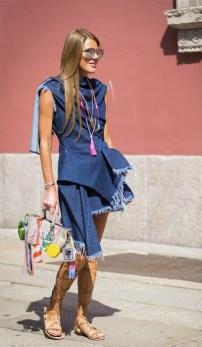 #LDD Little Denim Dress ANA dello RUSSO