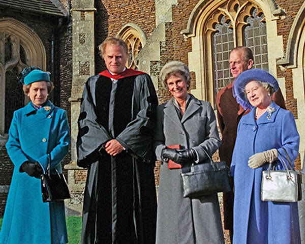 Regina Elisabeta a II-a și prietenia ei de-o viață cu evanghelistul Billy Graham