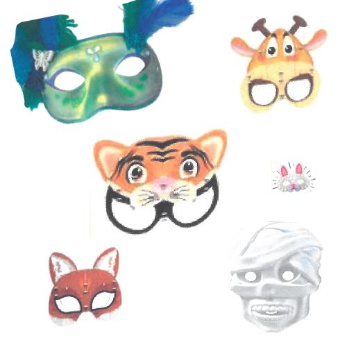 Máscaras de Plástico