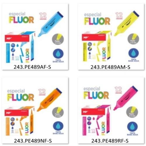 Marcadores Fluorescentes 2-5mm Expositor 489 (clique p/ ver cores)