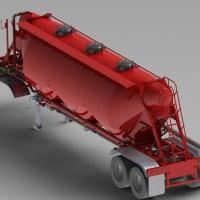 Blocos FP: Caminhão SILO Semi-reboque