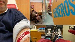 Aquesta setmana s'ha fet la Marató de donacions al banc de sang habitual després de festes, quan baixen les reserves. Important tenir-ho sempre present, sóc donant habitual i dimecres vaig fer cap a Can Ruti on vaig retrobar molts 'sospitosos habituals'.