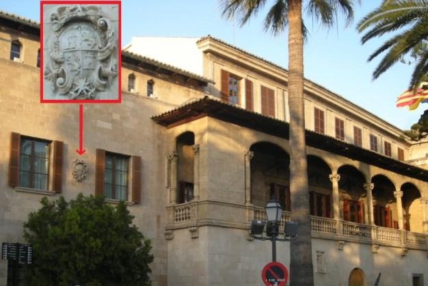 Oprobi i escarni a la seu de la Presidència de les Illes Balears