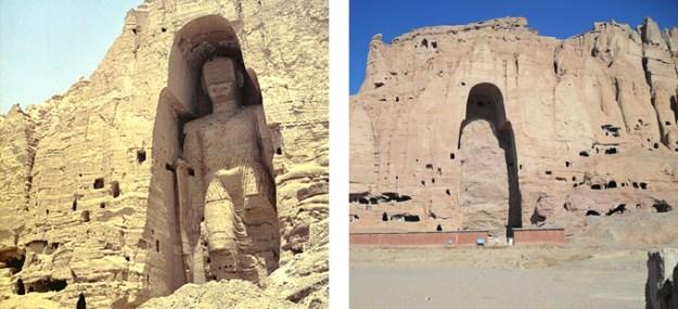Destrucció del buda de Bamiyan