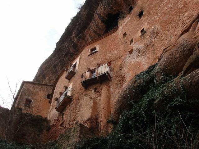 Una altra vista de les cases