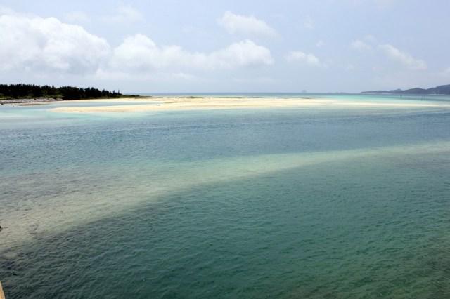 Una altra de les nombroses platges