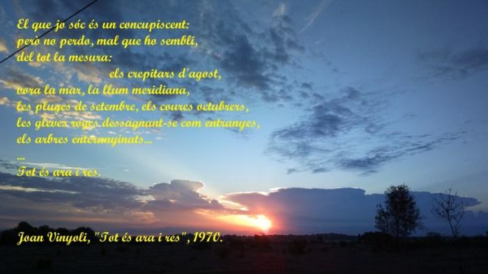 Alba del dia 24-09-2014 des de la Conarda (Bétera).
