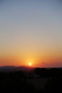 Alba del 02/08/2016, a les 07:13 h, des de La Conarda.