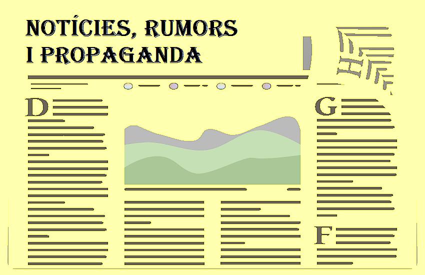 """De rumors i propaganda o com ens mantenen captius amb cadenes de plata (i 2). """"Rumors en guerra"""" de Marc Argemí."""