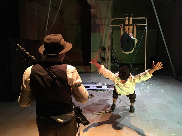 La companyia Passabarret estrena l'adaptació en clau de circ de la novel·la de Prudenci Bertrana 'Josafat'