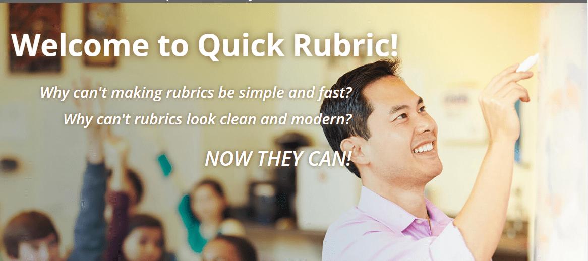 Crea una rúbrica amb Quick Rubric
