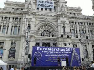 Cibeles - Llegando a Madrid