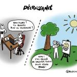 #cartoon : Gagner moins pour vivre plus