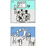#cartoon : Stratégie de transformation en entreprise