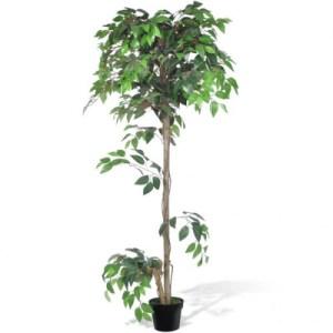 Kunst vijgenboom met pot 160 cm - vidaXL