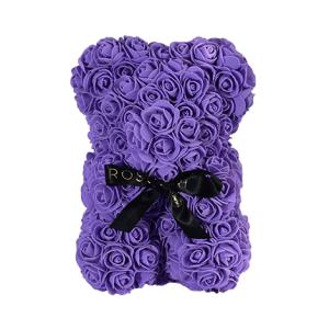 Rosenbär klein violett